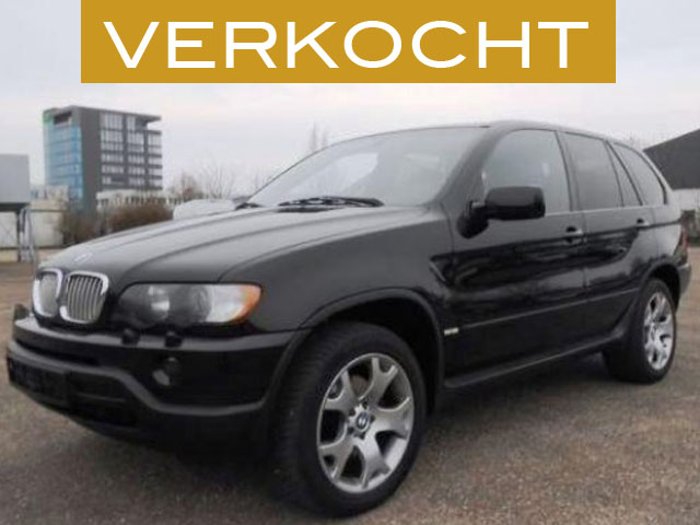 BMW X5 4.4i Executive Sportpakket