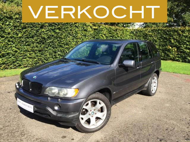 BMW X5 4.4i Executive - VERKOCHT