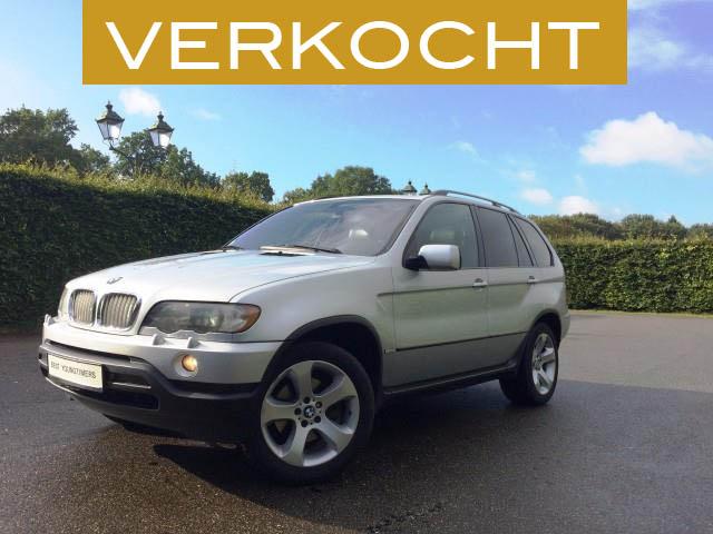 BMW X5 4,4i V8 - VERKOCHT
