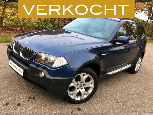 BMW X3 3.0i Exe Sport-verkocht