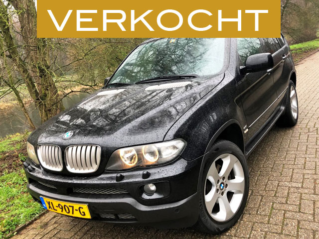 BMW X5 4.4i Executive Sport 001nw verkocht