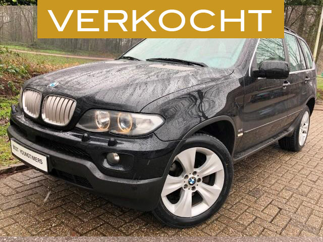 BMW X5 4.4i Executive Facelift verkocht