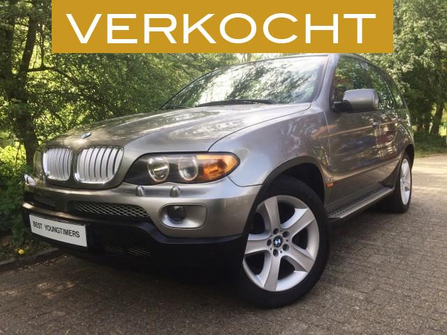 BMW X5 V8 4.4i FACELIFT verkocht