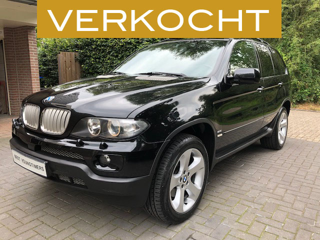BMW X5 4.4i V8 Facelift Executive Sport Verkocht