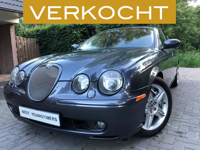 Jaguar S-Type R Supercharged verkocht