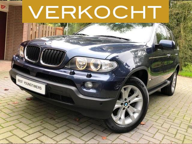 BMW X5 3.0D Facelift Verkocht